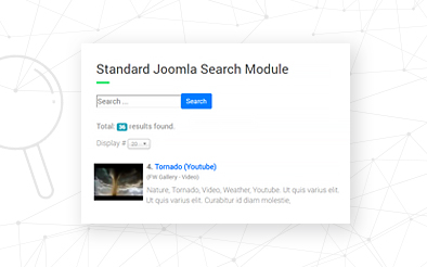 FWG Extended Joomla! Search