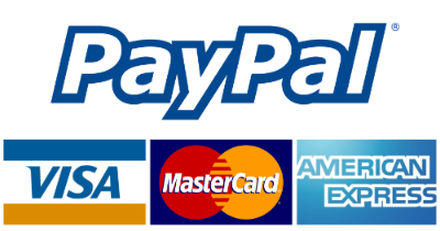 card or paypal logos