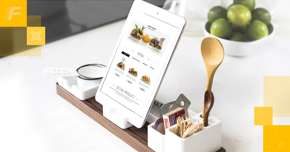 The Design And Structure Of The Menu On The Website Restaurant Or Cafe